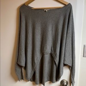 Joie high low dolman sweater cashmere blend
